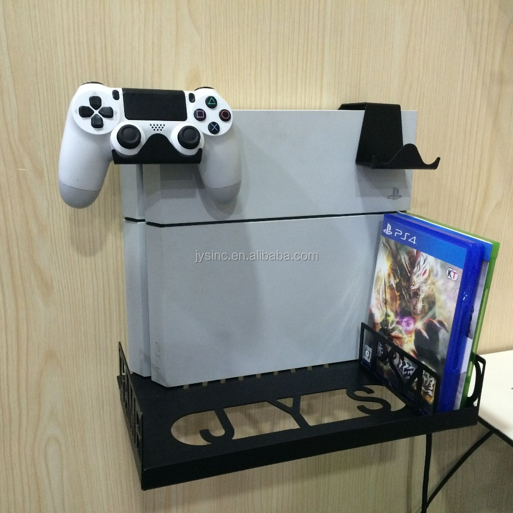 Available Universal Wall Mount Bracket And Desk Organizer For Ps4
