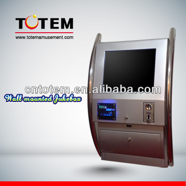Hot sell wall mounted touch screen jukebox for sale