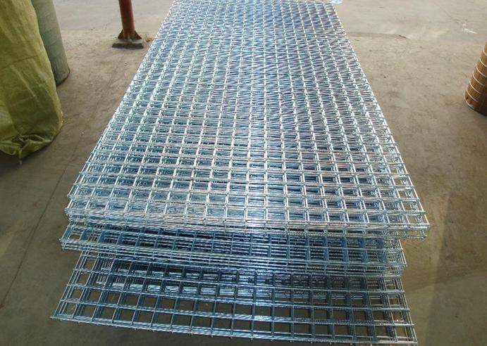 Electro Galvanized Welded Wire Mesh / Welded Square Netting