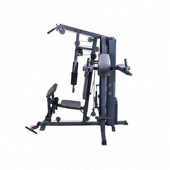 multi station bodybuilding equipment home gym with 150lb