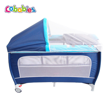 Portable Baby Furniture Kids Playpen Travel Crib Bed Made In China American Product On