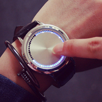 2016 New model unisex touch screen led watch as customize watch touch led watch