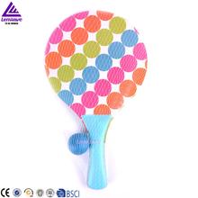 Wholesale Wholesale wood beach ball racket set beach tennis racket ...