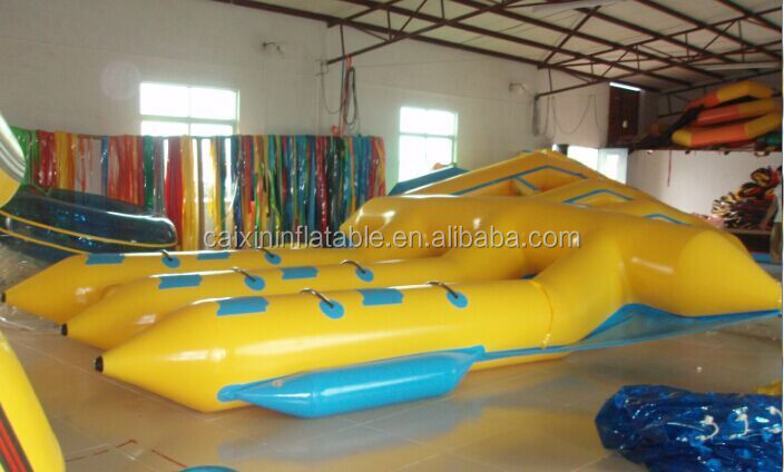 inflatable rafts fly fish for water sports /inflatable flyfish / rafts flying boat