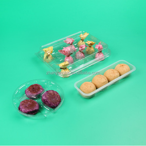 Food Grade Custom Plastic Insert Tray for Chocolate Cookie Dessert Cakes Boxes Package