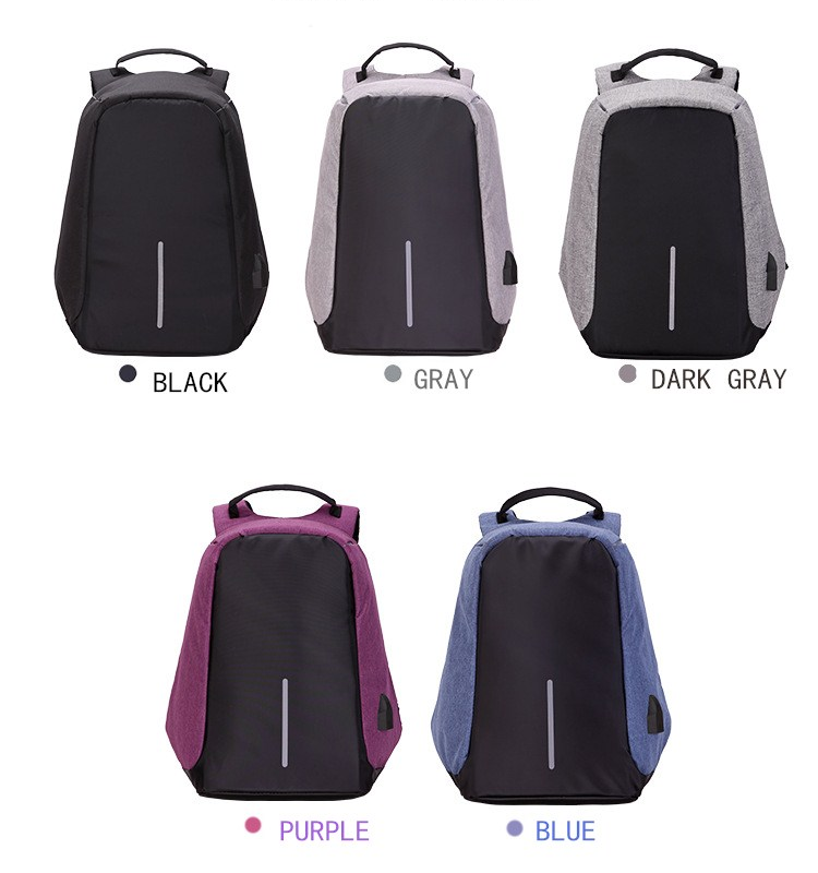 Reliable supplier custom design 15.6 inch lightweight backpack men laptop bag with USB port