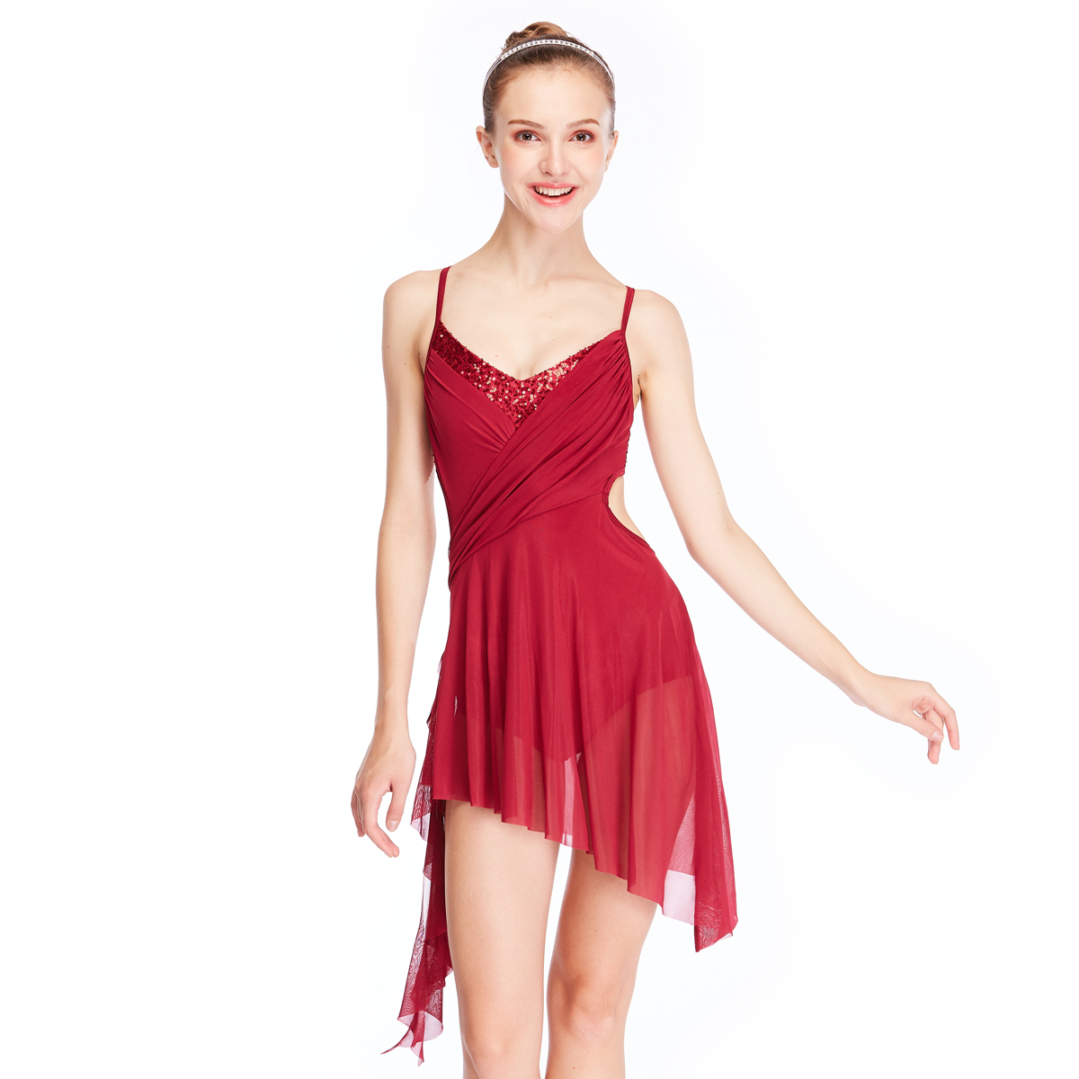 d43915c42056a MiDee Modern Stage Performance Costumes Lyrical Ballet Dance Dress For Girls
