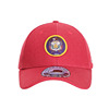 Promotion Structured Utah Cotton Plain Red Youth Baseball Cap With 3D Logo