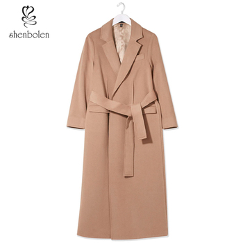 Uu Abrigos Moda Usar Mujer De Europa ee Cachemira La Largos 1nCwR5qa