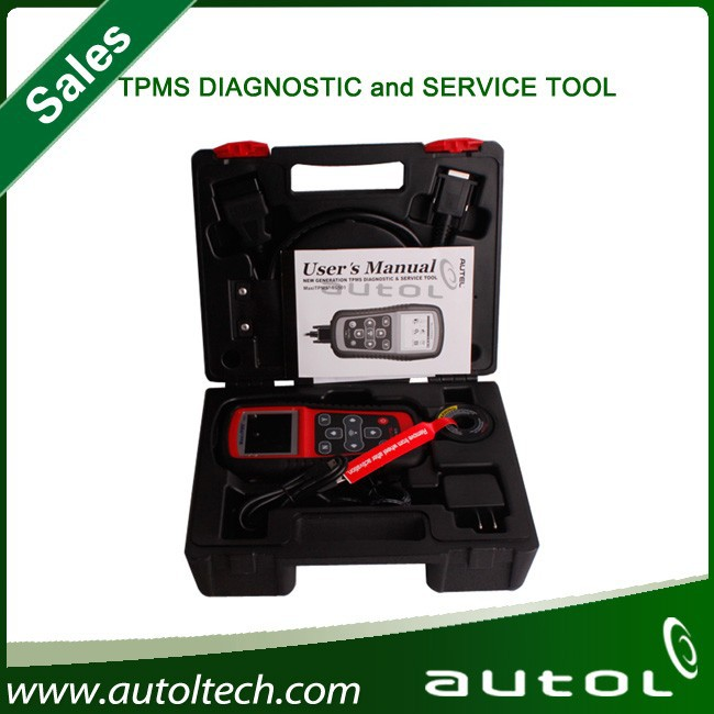 Autel MaxiTPMS TS501 reprogram ECU turn off warning lights Programs vehicle ECU to learn sensor IDs and positions