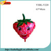 New arrival helium foil strawberry emoji balloon wedding balloon