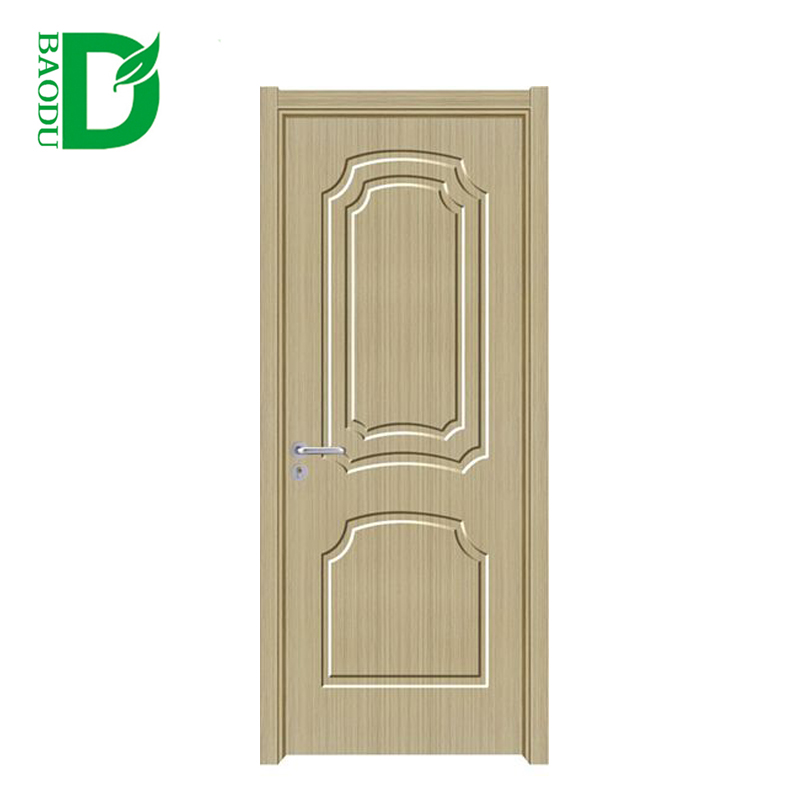 china alibaba cheap interior door pvc wooden glass door