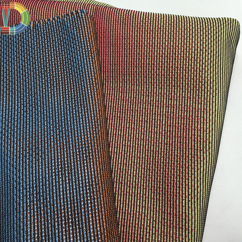china hot 100% polyester color change warp knitted wholesale mesh fabric for shoes