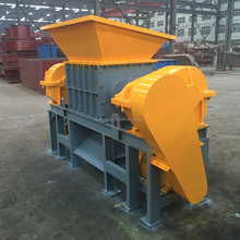 used tire primary crusher machine for tire recycling plant/waste rubber crusher machinery/tire shredder for crumb rubber