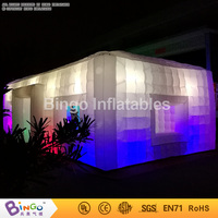 Colorful inflatable LED lighting tent for camping / party / show / event