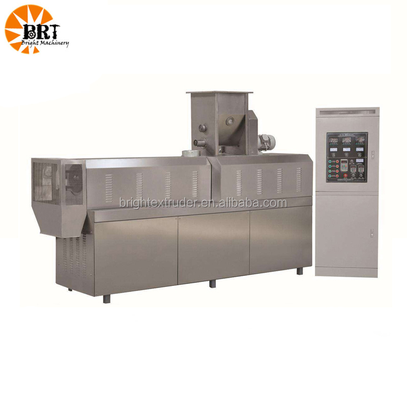 Pet food machine / pet food extrusion equipment pig feed making machine small dog feed extruder