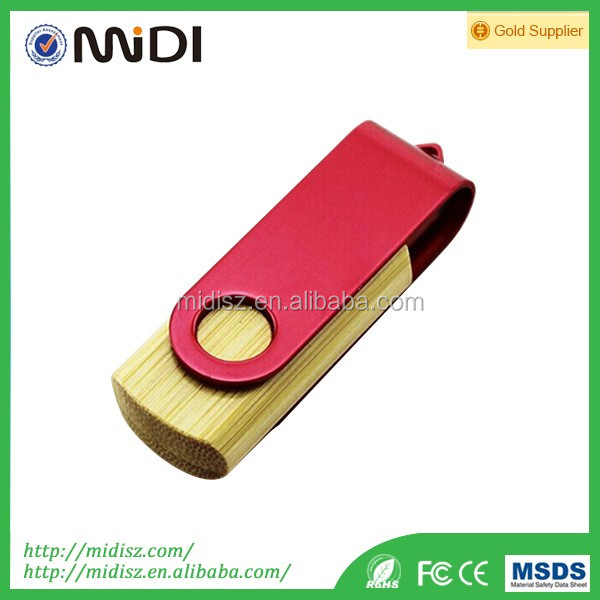 Great controller+Chips usb stick wood 1GB-32GB