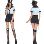 Sexy Police Woman Halloween complete costume women sexy cop AGC2294