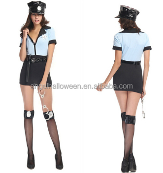 Sexy Police Woman Halloween complete costume women sexy cop AGC2294  sc 1 st  Alibaba : police costume for women  - Germanpascual.Com