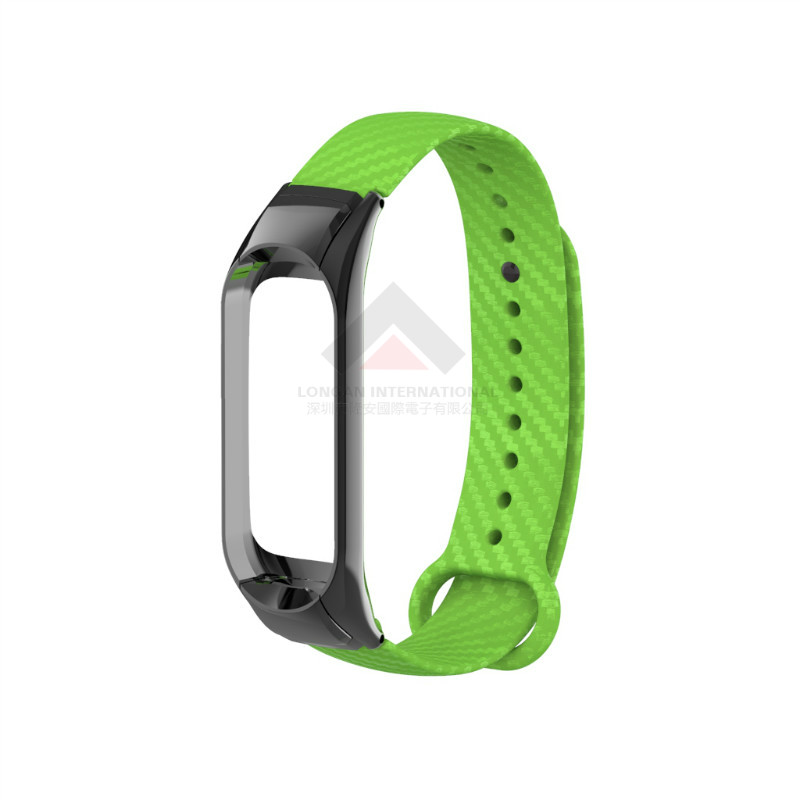 For Xiaomi Mi Band 3 Carbon Fiber Strap - Other Mobile Phone