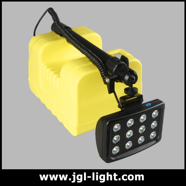 Rls-24w Heavy Duty Torch Light Mobile Light Tower Rechargeable ...