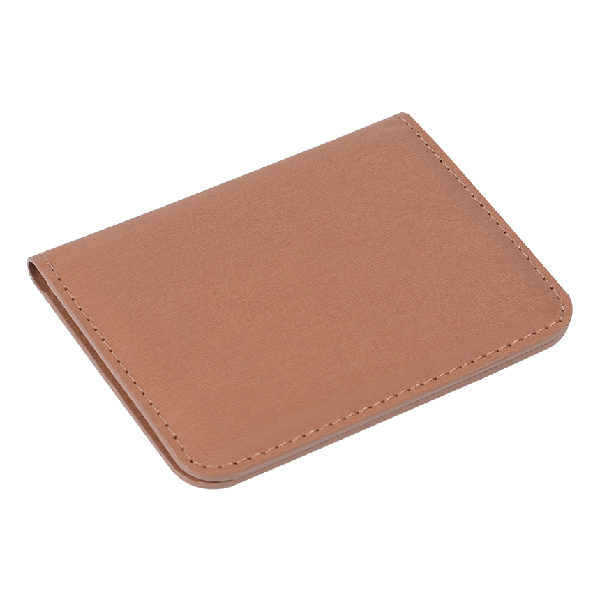 Luxury Black Business Card Holder Leather Novelty Card Cover for Promotion Gift 2018