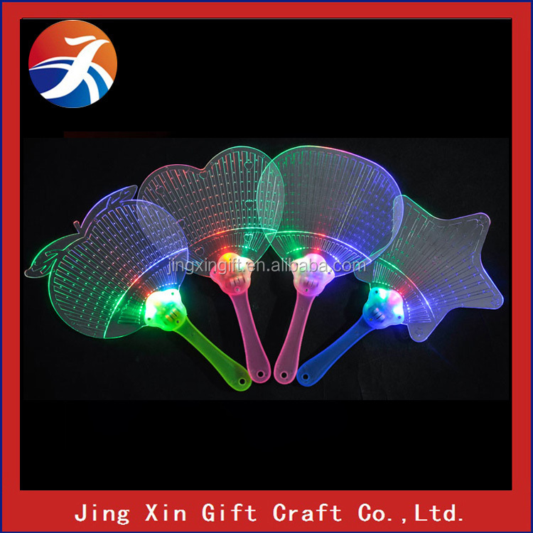 Flashing toys gift glow stick fan for children