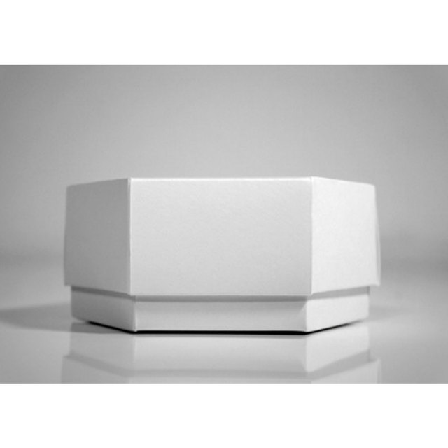 Best-Selling White Gift Box Simple Hexagonal Box