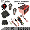 Universial 1 way CAR ALARM for South American market with 2 remotes