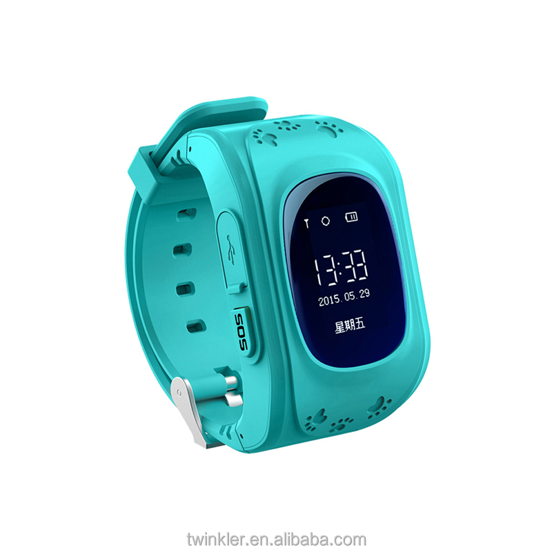 New Children Smart watch phone Q50 Kids Tracking GPS smart baby watch
