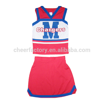 Cheerleader Fancy Dress Costume Womens High School Cheer basketballu0026football cheerleading costumes  sc 1 th 225 & Cheerleader Fancy Dress Costume Womens High School Cheer ...