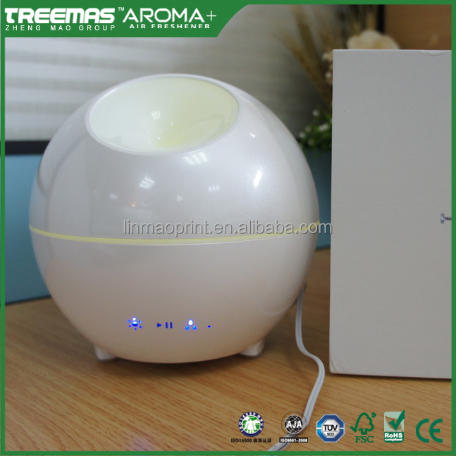 New Design 400ml Ultrasonic Bomb Shaped Colorful Aroma Diffuser