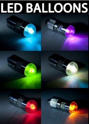 Hot Mini Waterproof Battery Operated Led Party Lights Balloon ...