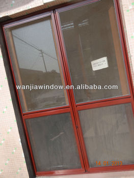 Aluminium mosquito net doors folding buy mosquito net for Mosquito net for french doors
