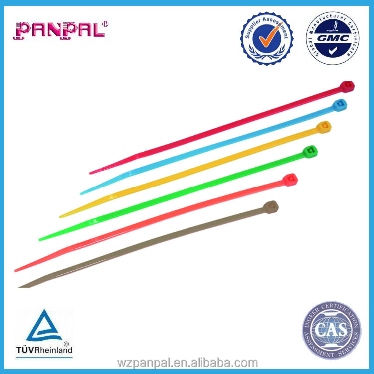 china supplier heavy duty color plastic nylon cable tie