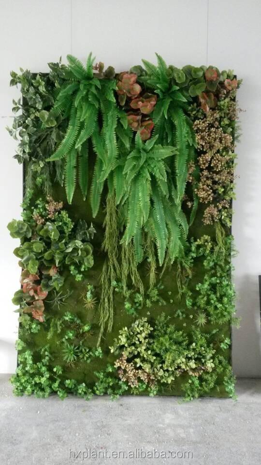 Jardin vertical / planteur, Mur végétal grande verticale mur végétal ...