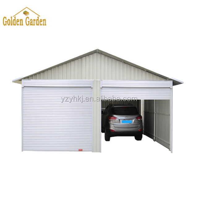 A Factory Outlet Metal Car Garage For Two Cars Portable ...