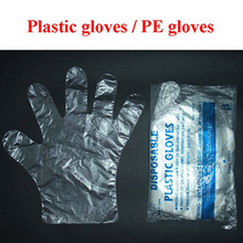 Lowest price disposable pe gloves plastic with best quality