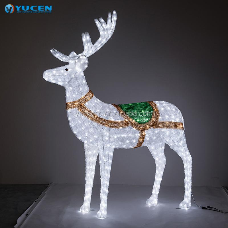 Éclairage de Noël Renne DEL 90x30x135cm coffrets de Acrylique 54 0085