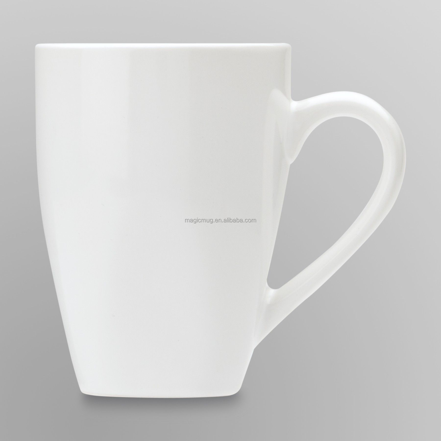 Bulk Household Items Ceramic Plain White Coffee Mug