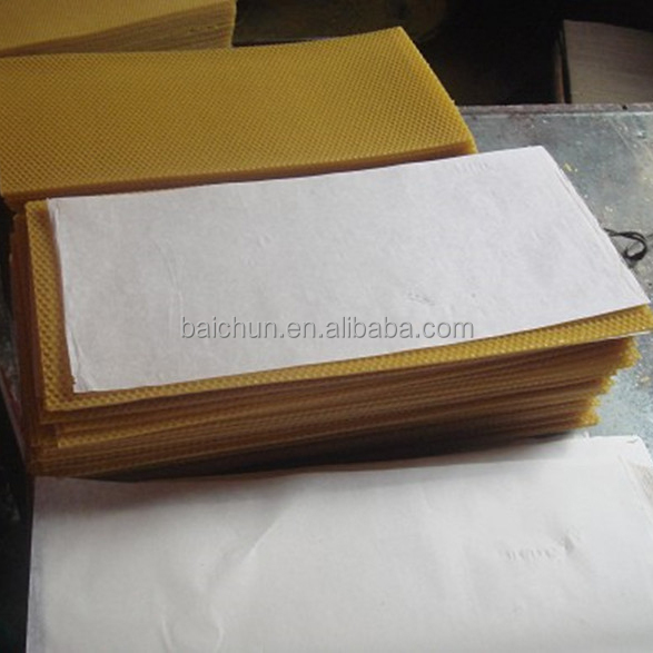 Best Supply Beeswax Plasatic Foundation Sheet From China Supplier For Expot To America