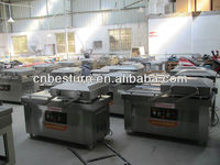 gas charging vacuum packing machine