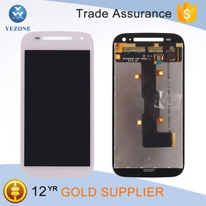 White Original New LCD Display Touch Screen Digitizer for Motorola Moto E 2nd Gen XT1527 XT1528