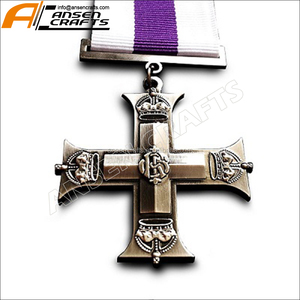 Military Medal Military Cross Medal Awarded to Officers & Brittish Armed Forces WW1 British Replica