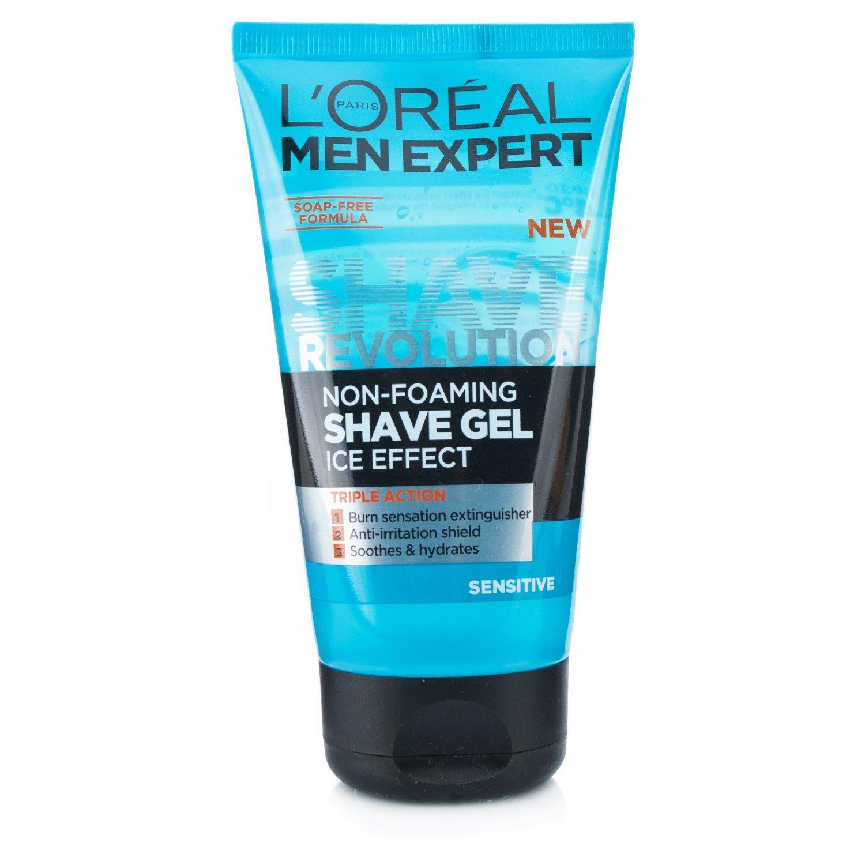 Buy Loreal Men Expert Shave Revolution Non Foaming Gel Ice White Foam By Paris Sensitive 150ml