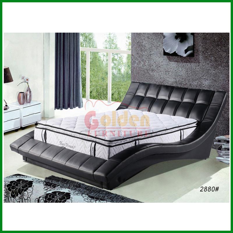 Dise o elegante cama en italiano famoso productos camas for Camas plegables diseno italiano