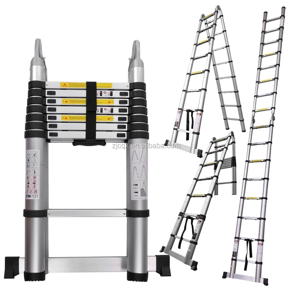 3 2m 3 85m 4 4m 5m Telescopic Ladder With Unique Integral