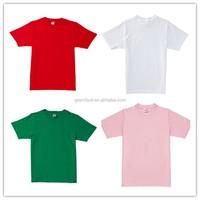 Most popular Thailand quality 100% cotton man t shirt