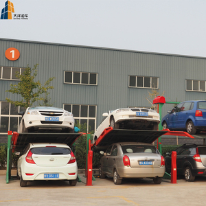 Automated hydraulic car parking system used cars lift for sale
