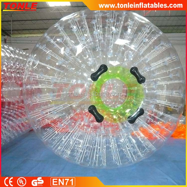 1.0mm PVC/TPU High quality Inflatable Zorb Ball, Giant Human Sized Hamster Ball For Sale